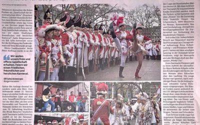 Funkenflug für einen friedlichen Karneval