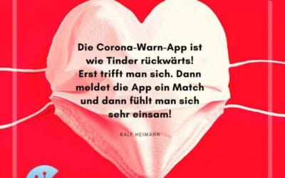 Met Schnüssjardingche un Corona-App