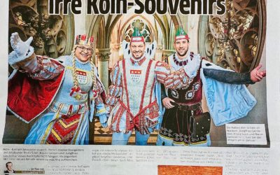 Dreigestirn versteigert irre Köln-Souvenirs
